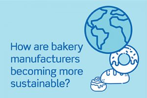 How are bakery manufacturers becoming more sustainable?
