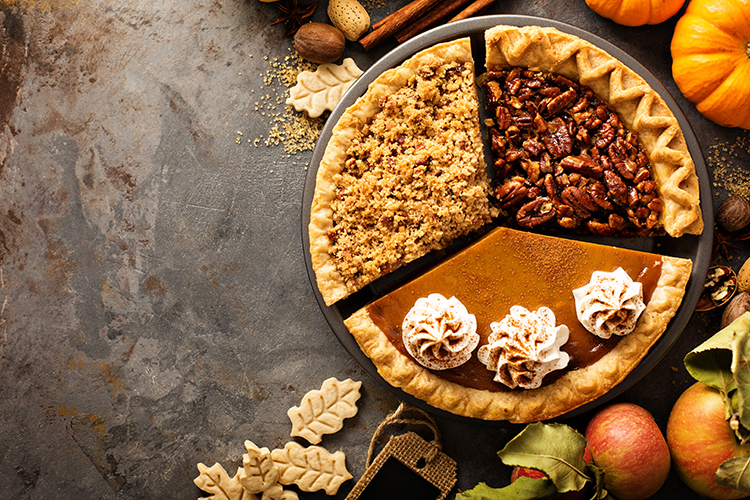 No time like the holidays for indulgent baked goods